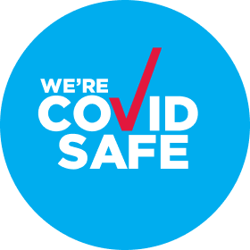 We are Covid safe logo
