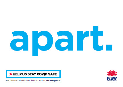 COVID-19 poster (part 3 of 3): apart
