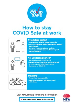 COVID-19 poster (blue version): The maximum capacity of this lift is 1 person