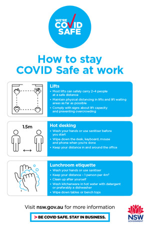 COVID-19 poster - General Workplaces