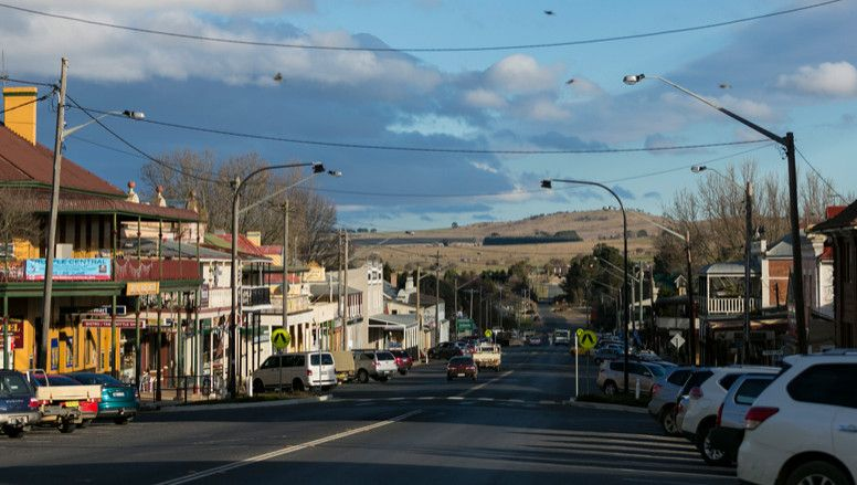 Braidwood main street