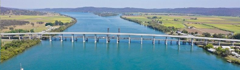 Bridge over Clarence River