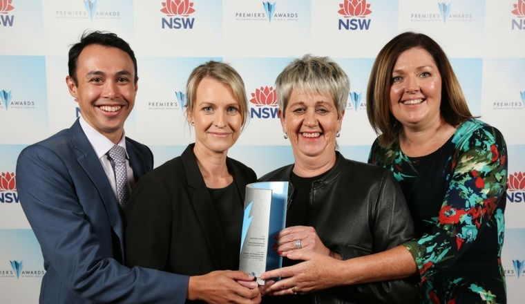 Premiers Awards for Public Service
